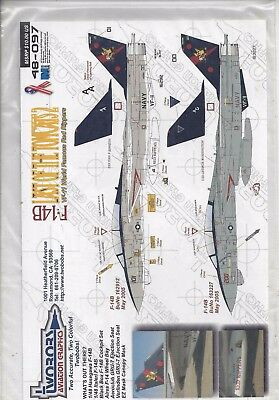 F-14B Last of the Tomcats VF-11 Red Rippers 1/48 Two Bobs 48-097