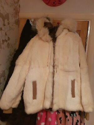 vintage real fur coat