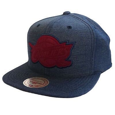 Mitchell & Ness Cut Heather Snapback Cleveland Cavaliers Navy/Burgundy