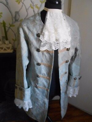 Larp/steampunk/theatre Costume Pirate Prince Style Coat 38/40 Chest