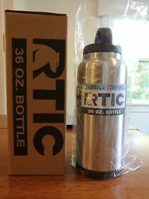 NEW RTIC 36oz Water Bottle - Stainless