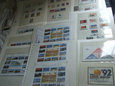 Spain Spanish Espana Stamps Umm & Used Sets Commemoratives Definitives 1992