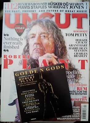 UNCUT magazine December 2017 Robert Plant Mavis Staples Tom Petty etc & CD