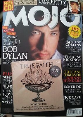 MOJO magazine December 2017 Bob Dylan Tom Petty Nick Cave Jimmy Page etc & CD