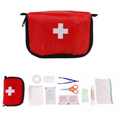 Outdoor Camping Hiking Survival Travel Emergency First Aid Kit Car Rescue Bag