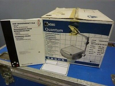 NoBo Quantum Overhead Projector with Acetates