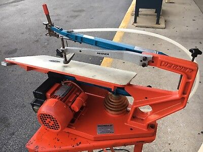 ~Hegner Multimax-18 Scroll Universal Precision Saw With Stand ~WORKS GREAT ~