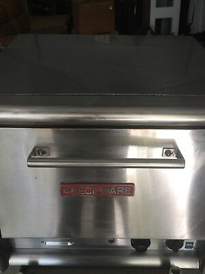 Cecilware Countertop Double Deck Electric Pizza Oven PO-18