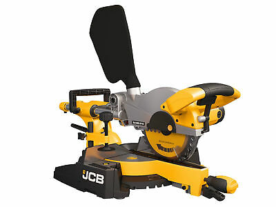 JCB 1600W 240V 255mm Sliding Compound Mitre Saw  scms255