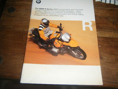 The BMW R Series Brochure
