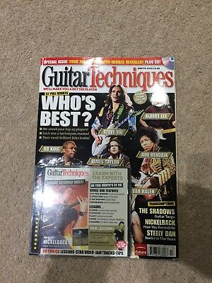 Guitar Techniques Magazine Winter 2005
