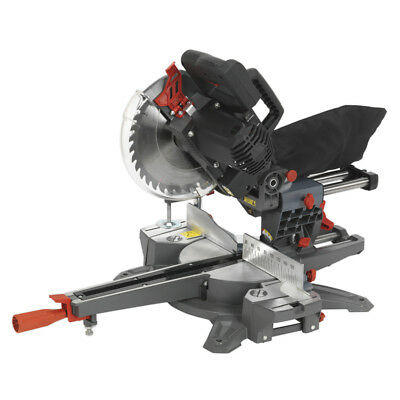 Genuine SEALEY SMS216 | Double Sliding Compound Mitre Saw 216mm