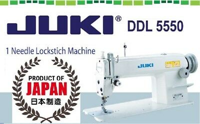 Juki DDL-5550 Industrial Sewing Machine,Servo Motor Made in Japan DDL5550N DIY.