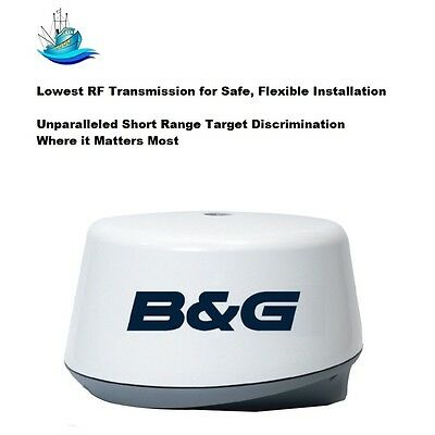 B&G Unparalleled 3G Broadband Radar Dome With 20M Cable Now With 30% More Range