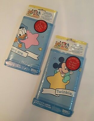 VTG DISNEY BABIES wallpaper border, removable, child baby nursery 10 yards