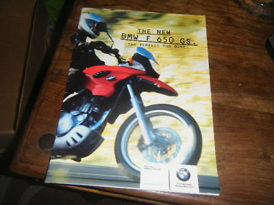 BMW F650 GS Brochure