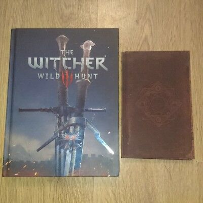 witcher 3 wild hunt collectors edition official strategy guide plus book