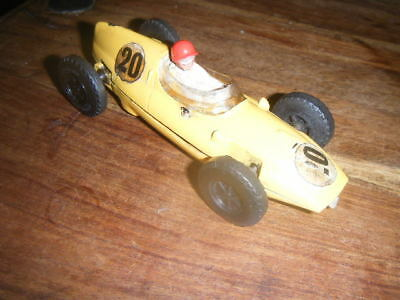 Vintage Triang Scalextric MM/C58 Cooper Slot Car - Yellow