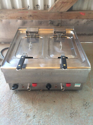 lincat twin fryer commercial stainless steel 240V