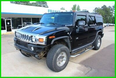 2007 Hummer H2 Base Sport Utility 4-Door 2007 Used 6L Hummer H2 Luxury Loaded One Owner 4x4 Black Onstar H1 H3 Leather