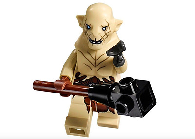 Lego The Hobbit Azog White Orc & Weapon 79014 **New** **Very Rare**