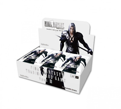 Final Fantasy TCG Opus 3 Sealed Booster Box Free Shipping!