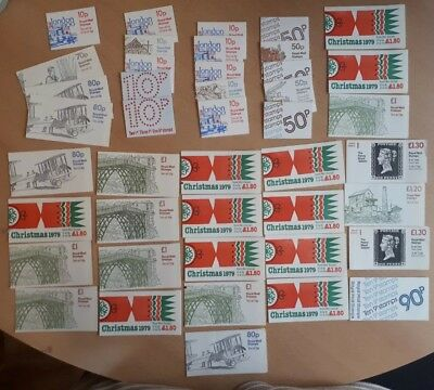 Royal Mail Booklets - Unused Stamps