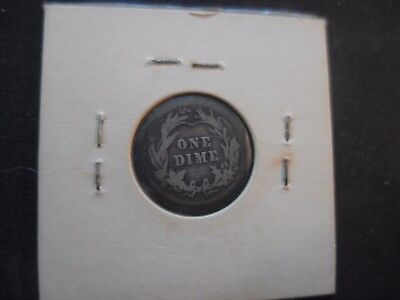 1916 Philadelphia Mint Silver Barber Dime   IN GOOD READABLE CONDITION!!
