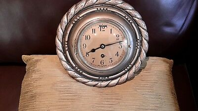 4 in dial  wall clock  with rope surround