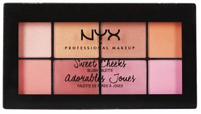 NYX Professional Make-up Sweet Cheeks Blush Palette No1