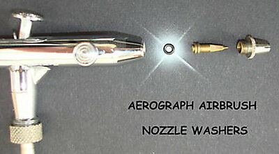 Aerograph Original Airbrush Nozzle Washers pack of 10