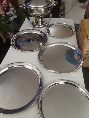 Stainless Steel Catering Platers
