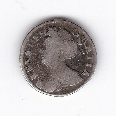 1703 Queen Anne Silver Two Pence***Collectors***