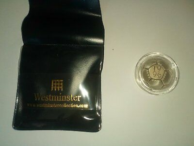 Royal Mint 1996 silver proof £2 STANDARD celebration of football coin cased