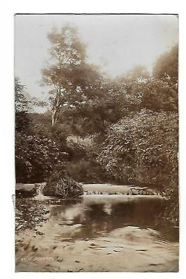 Groudle Glen River. R/P. Posted at Douglas in 1911.