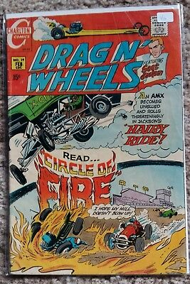 Charlton Comics - Drag n' Wheels #39 - Bronze Age Jim Aparo