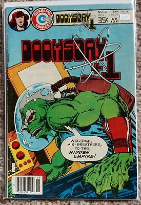 Charlton Comics - Doomsday +1 - 3 issues - Bronze Age John Byrne