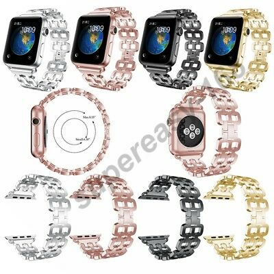 Apple Watch  Band Series 1 2 3 Stainless Steel Metal Strap Replacement  iWatch