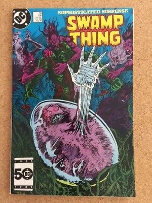 Swamp Thing 39 3rd Full Appearance John Constantine Hellblazer by Alan Moore