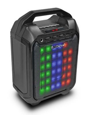 iDance Blaster10 Bluetooth Karaoke System With Built In Light Show & Microphone