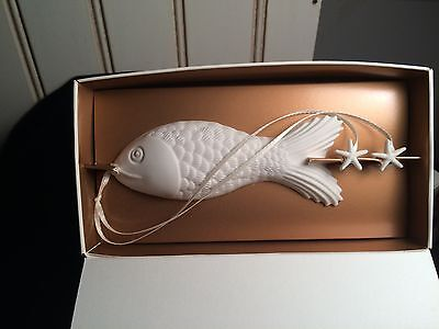 Margaret Furlong Shell Fish Ornament MIB