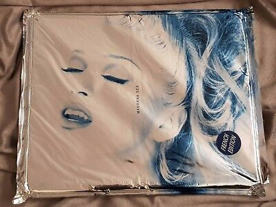 MADONNA SEX BOOK SEALED FRENCH VERSION w/ HYPE STICKER