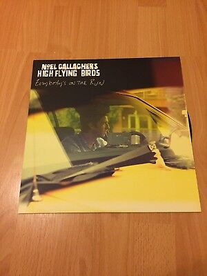 "Noel Gallaghers High Flying Birds Everybody's On The Run 12"" Vinyl"