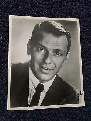 Frank Sinatra Signed 1953 Damato Collection
