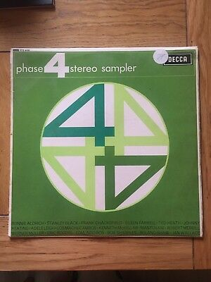 Phase 4 Stereo Sampler- Compilation- Vinyl Record