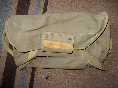 Original 1944 Type A4 Reserve Parachute Pack Tray With Bungee Cords, Record Book