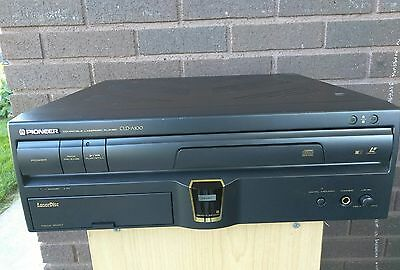 Pioneer LaserActive CLD A-100 LD,CD Laser Disc Player Console