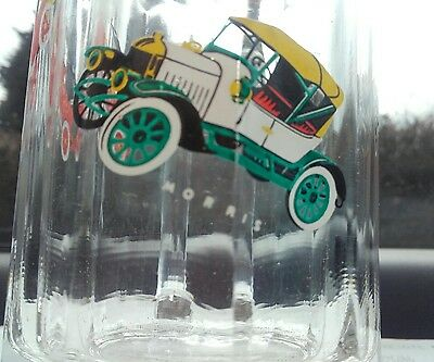 vintage FORD glass, drinking glass.