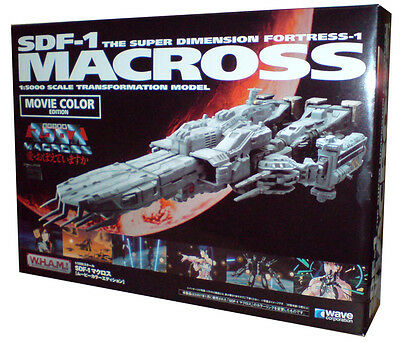 Macross-Robotech SDF-1 scale 1/5000 della W.H.A.M. Movie Color Limited!!