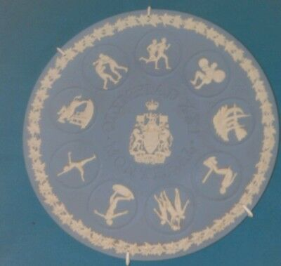 wedgewood plate  celebrating MONTREAL  Olympics